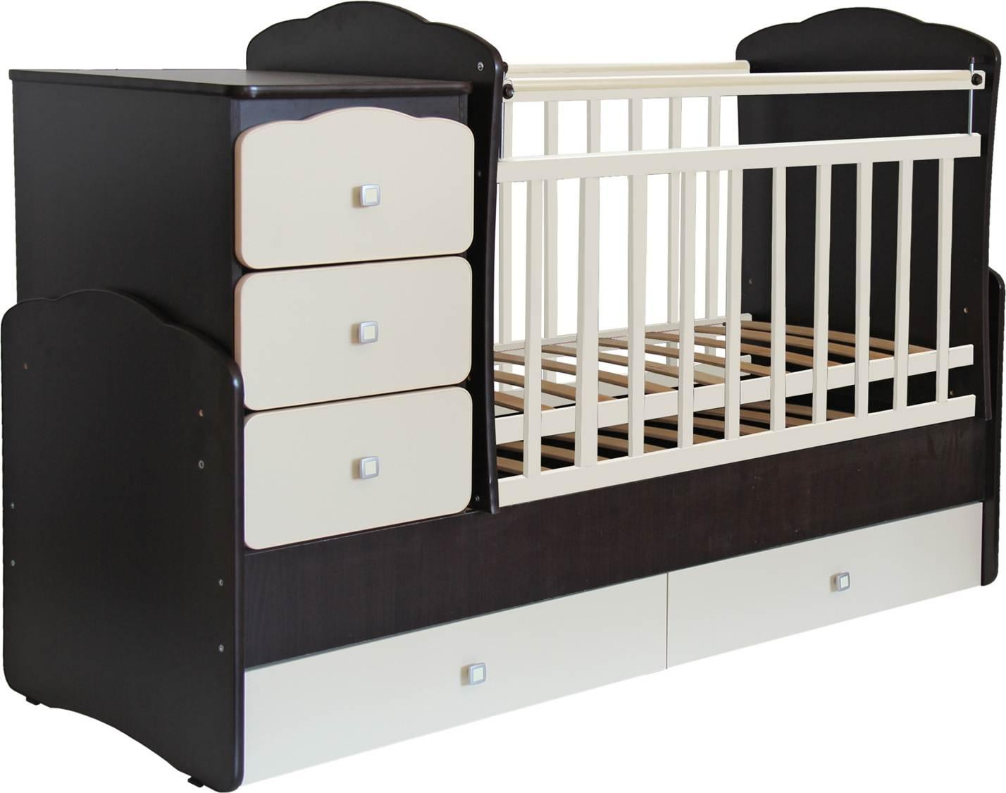 Кроватка-трансформер детска