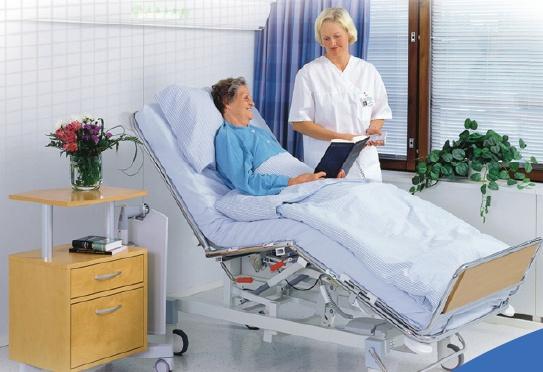 Кровать в больнице
