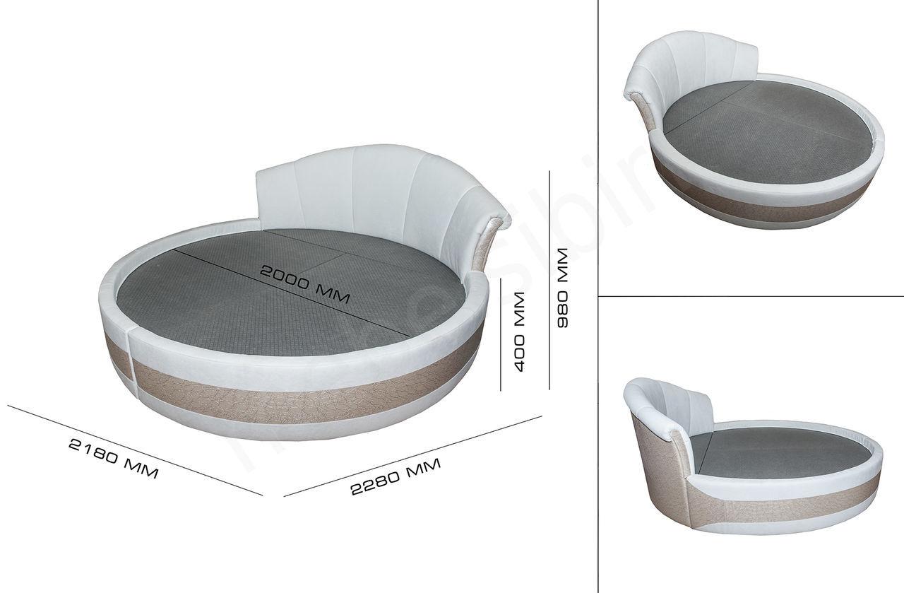 Круглая кровать и ее особенности