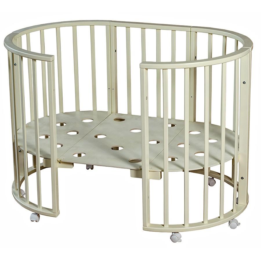 Кругло-овальная кровать