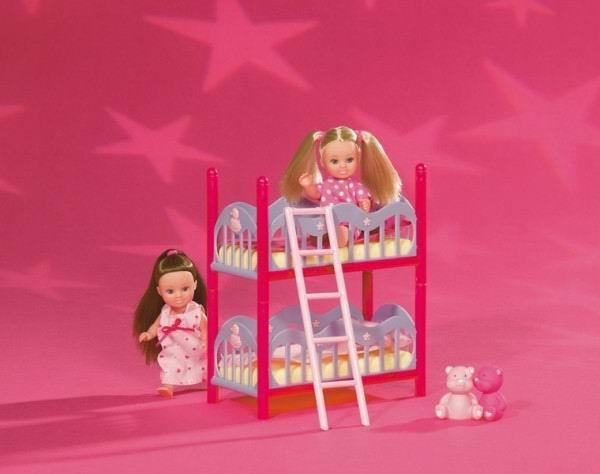 Кукла Еви с кроваткой