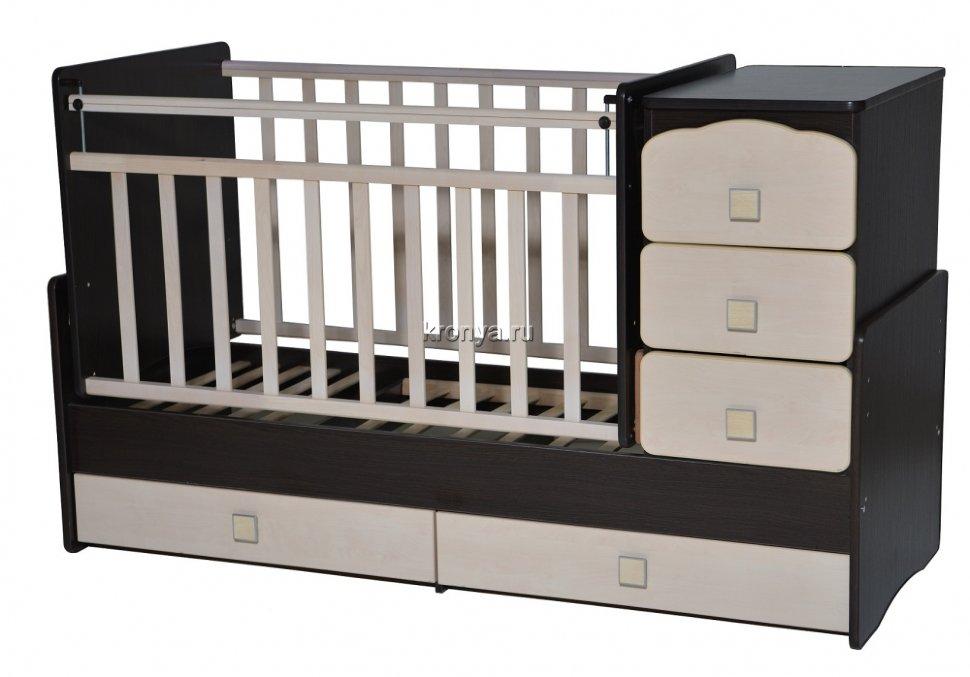 Маятниковая кроватка для ребенка
