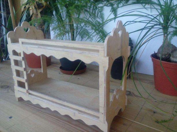 Мебель для кукол из натурального дерева
