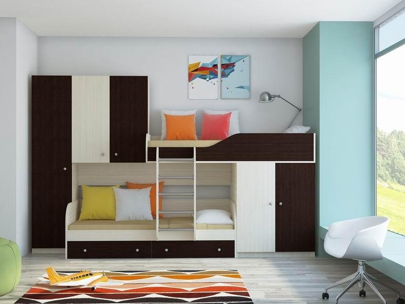 Мебель двухъярусная