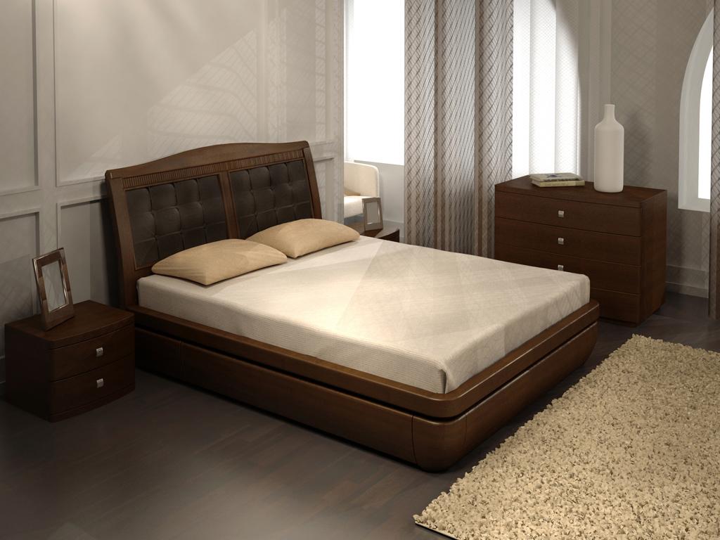 Мебель из массива натурального дерева для сна