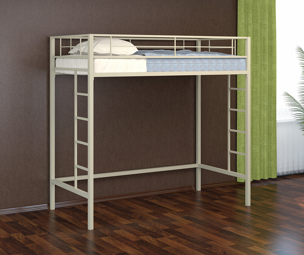 Мебель из металла белого цвета