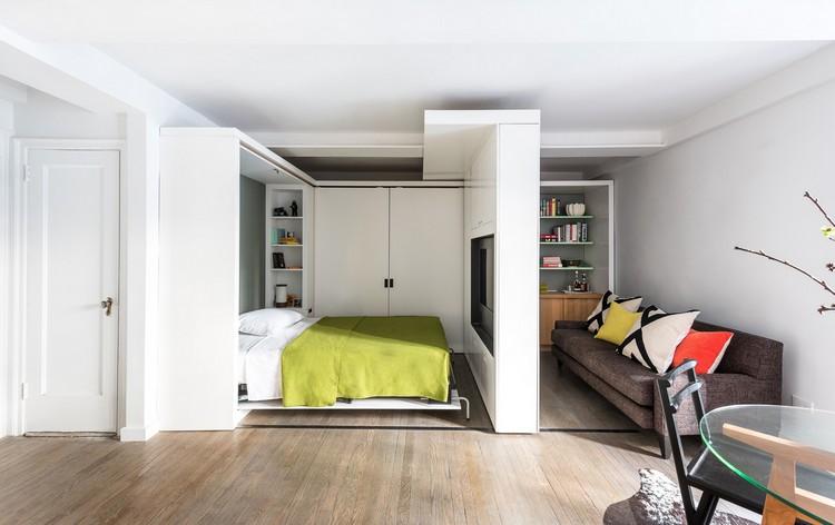 Мебель с контрастными элементами