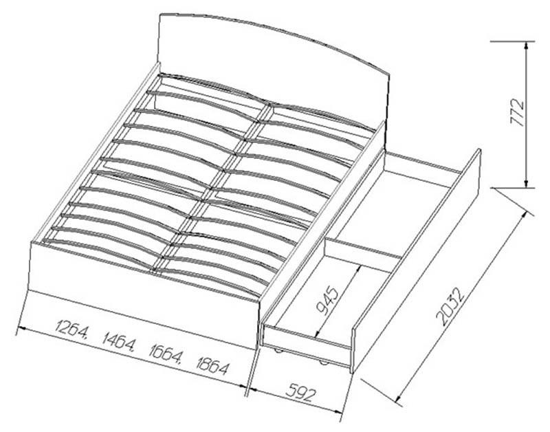 Мебель с ящиками