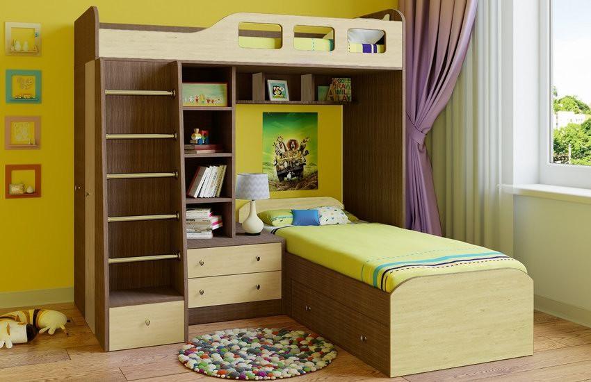 Мебель угловой формы для сна и отдыха