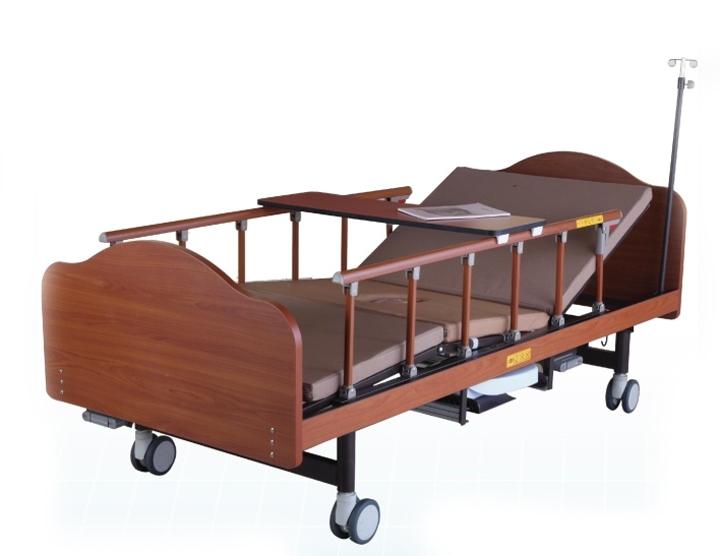 Медицинские кровати с туалето