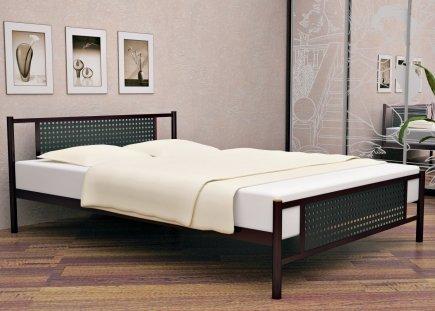 Металлические кровати имеют множество вариантов дизайна