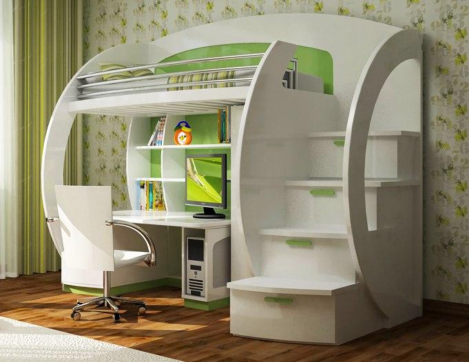 Многоярусная мебель для подростка