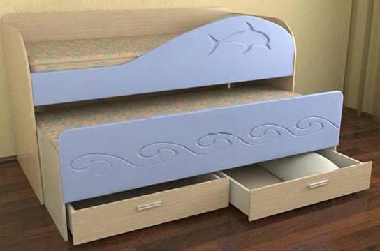 Модель кровати в детскую