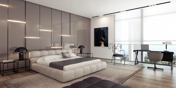 Модерн в спальне