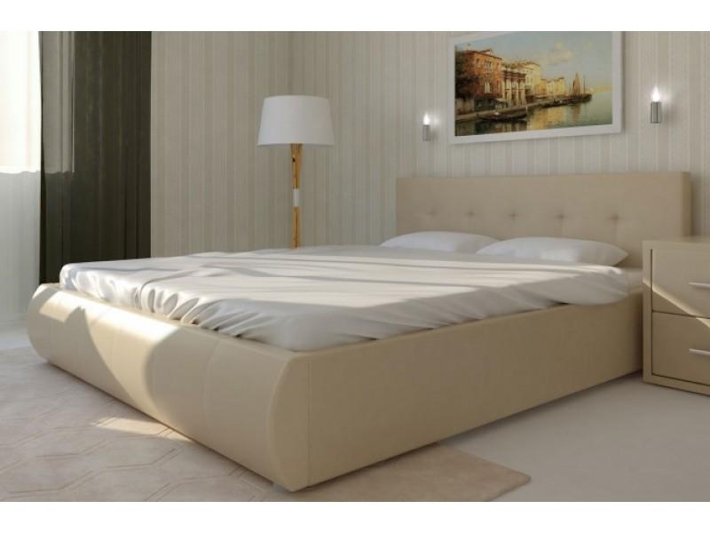 Мягкая кровать на подъемном механизме