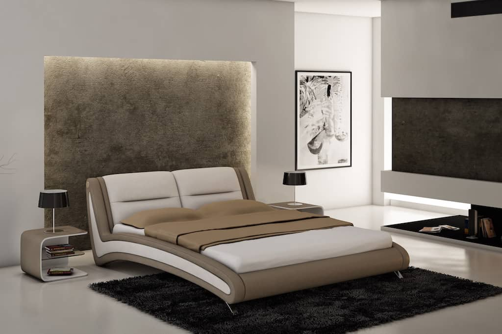 Мягкая светодиодная подсветка у изголовья кровати