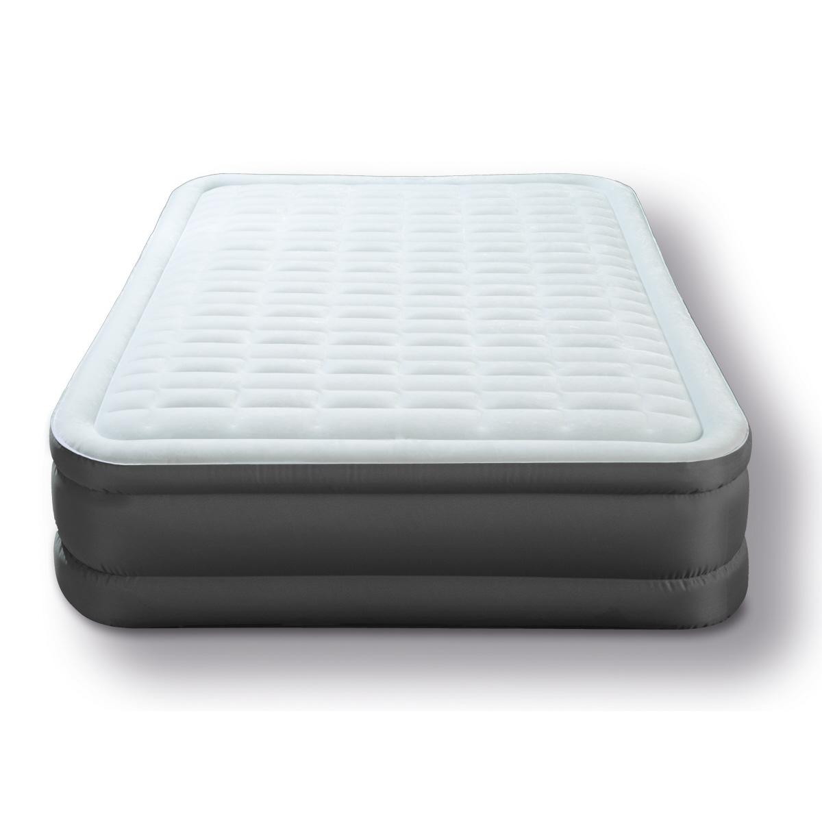 Надувная кровать с встроенным электрическим насосом Intex