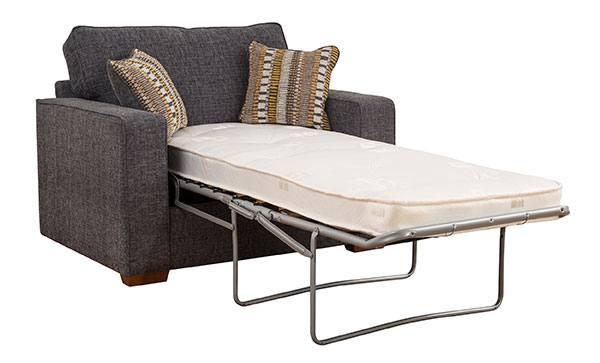 Наиболее распространенными видами раскладки кровати в кресло называют механизм аккордеон