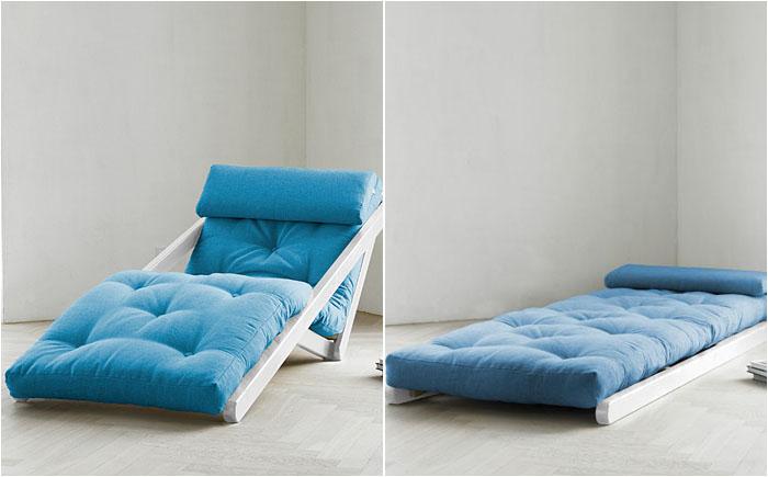 Необычный механизм кресла-кровати