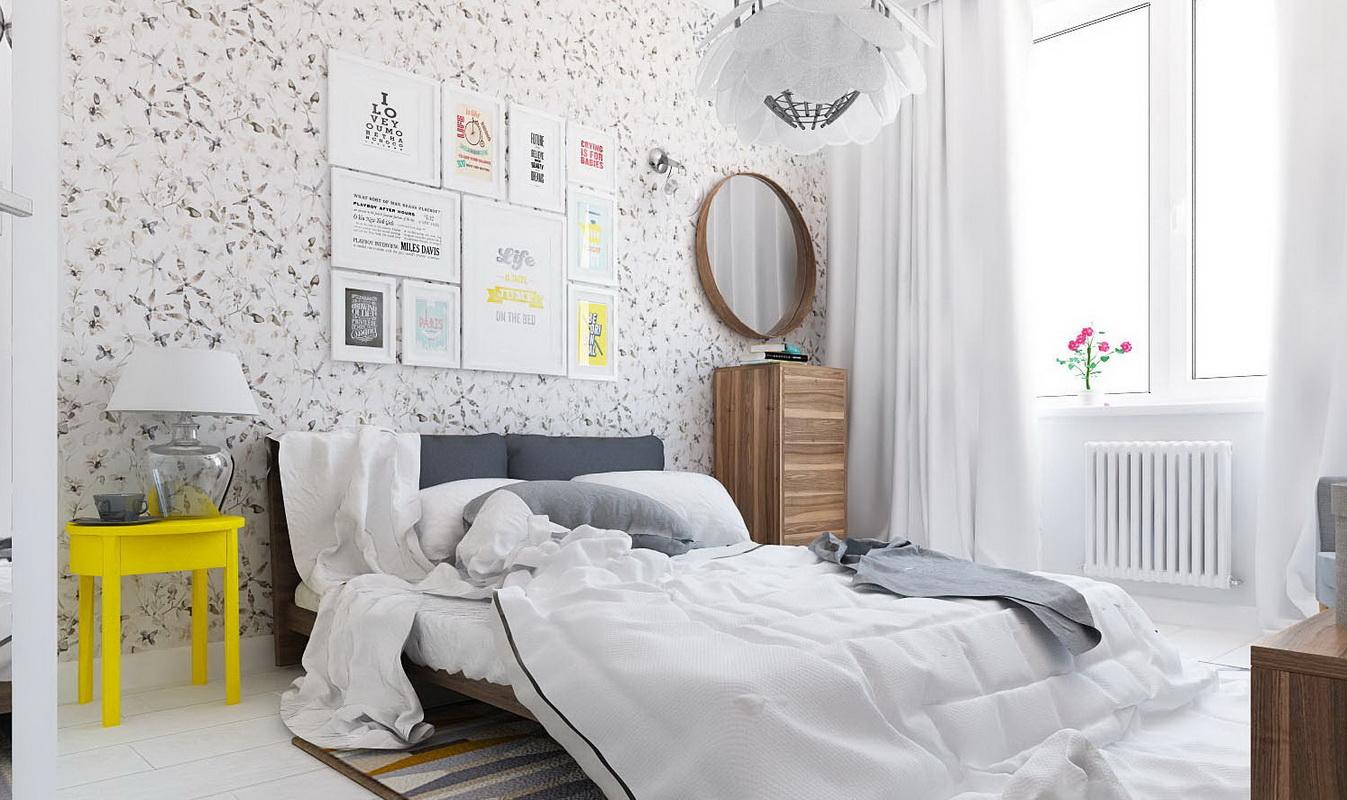 Низкая двуспальная мебель