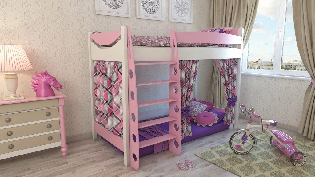 Обустройство детской комнаты девочки