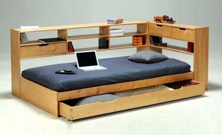 Односпальная функциональная кровать