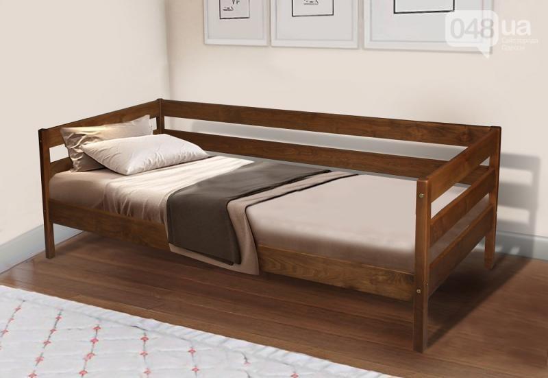 Односпальная кровать в стиле модерн