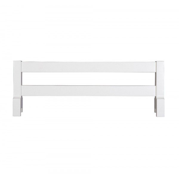 Ограничитель белого цвета для мебели