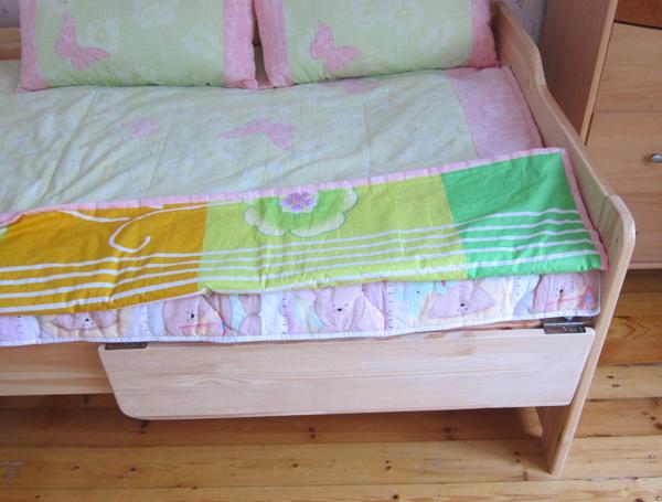 Ограничители для детской кроватки: какой лучше изготовить? 82
