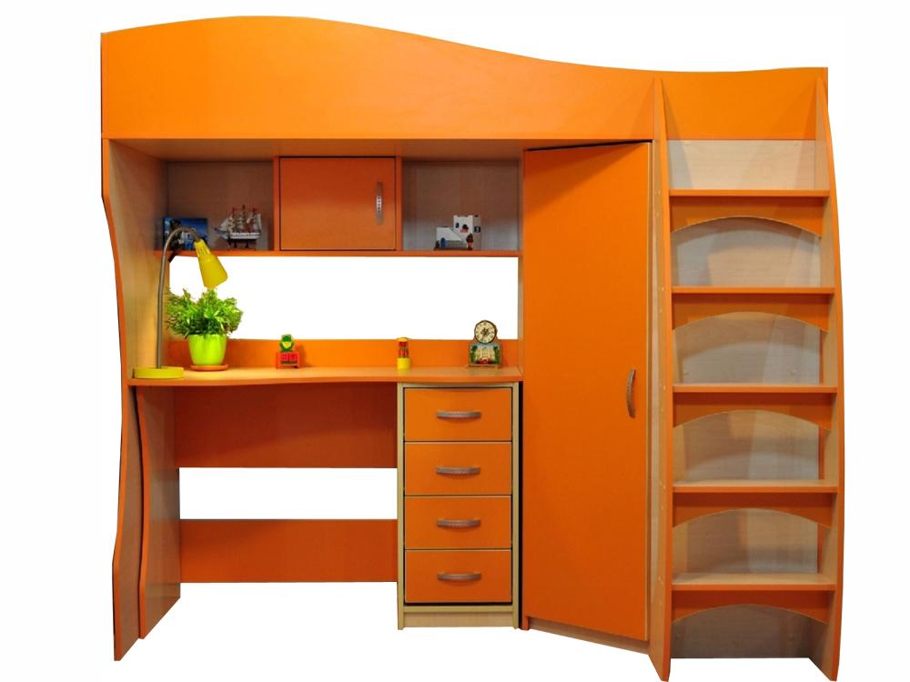 Оранжевые предметы мебели