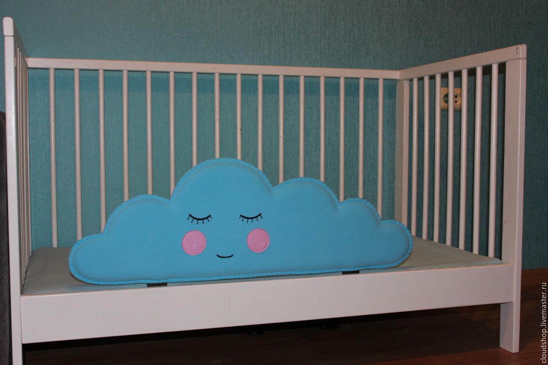 Оригинальный декор кроватки