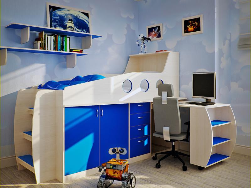Особенности мебели трансформер для ребенка
