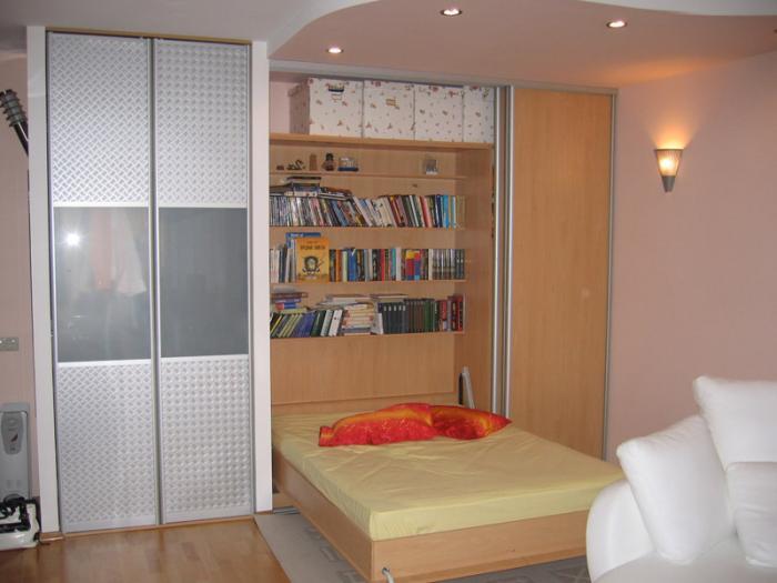 Откидная (подъемная) шкаф-кровать