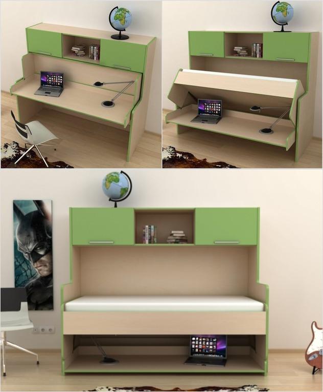 Откидная современная мебель