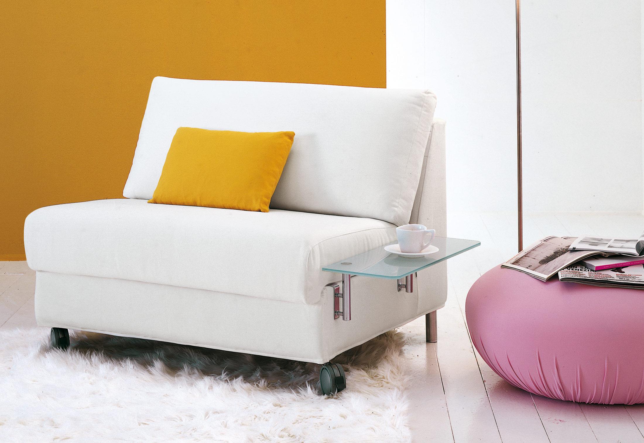 Плюсы мебели без подлокотников
