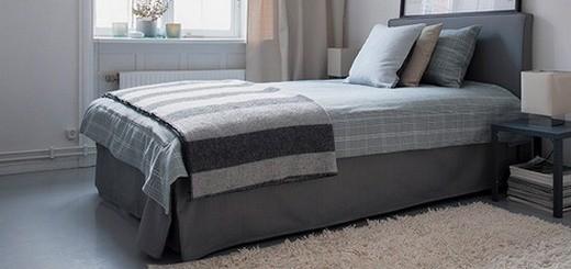 Подзор для кровати - каким он бывает и как его сшить