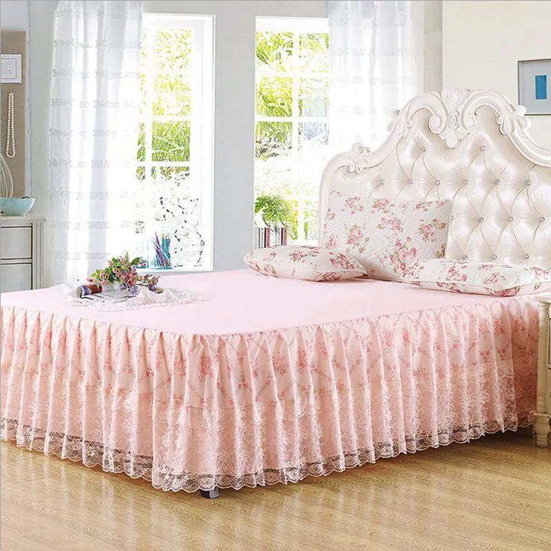 Подзор для кровати позволит вам создать завершенный образ спальни, добавив ей уют и гармонию