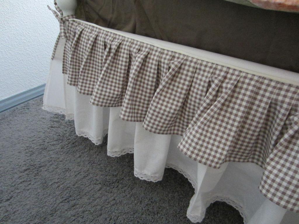 Подзор для кровати в стиле Прованс