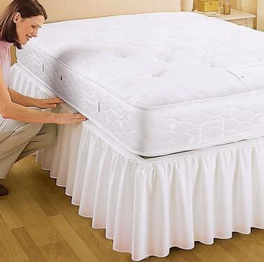 Подзоры или юбки для кровати