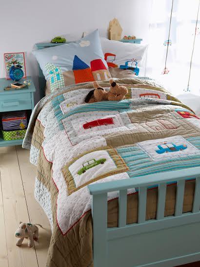 Покрывало - одеяло для кровати мальчика