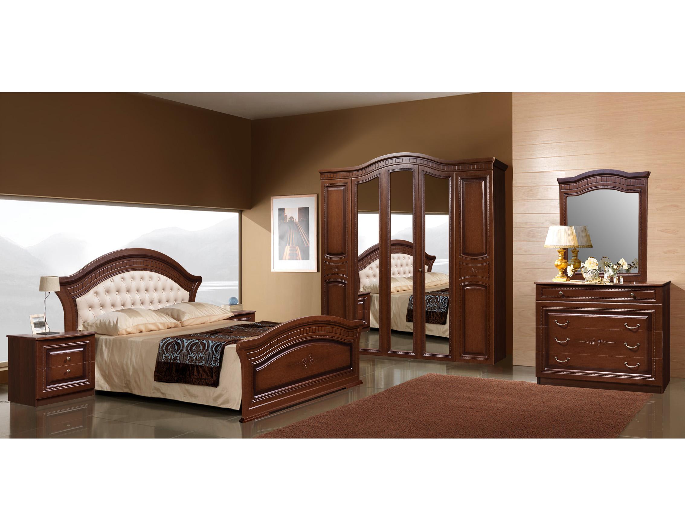 Правильно выбираем тон спальной мебели