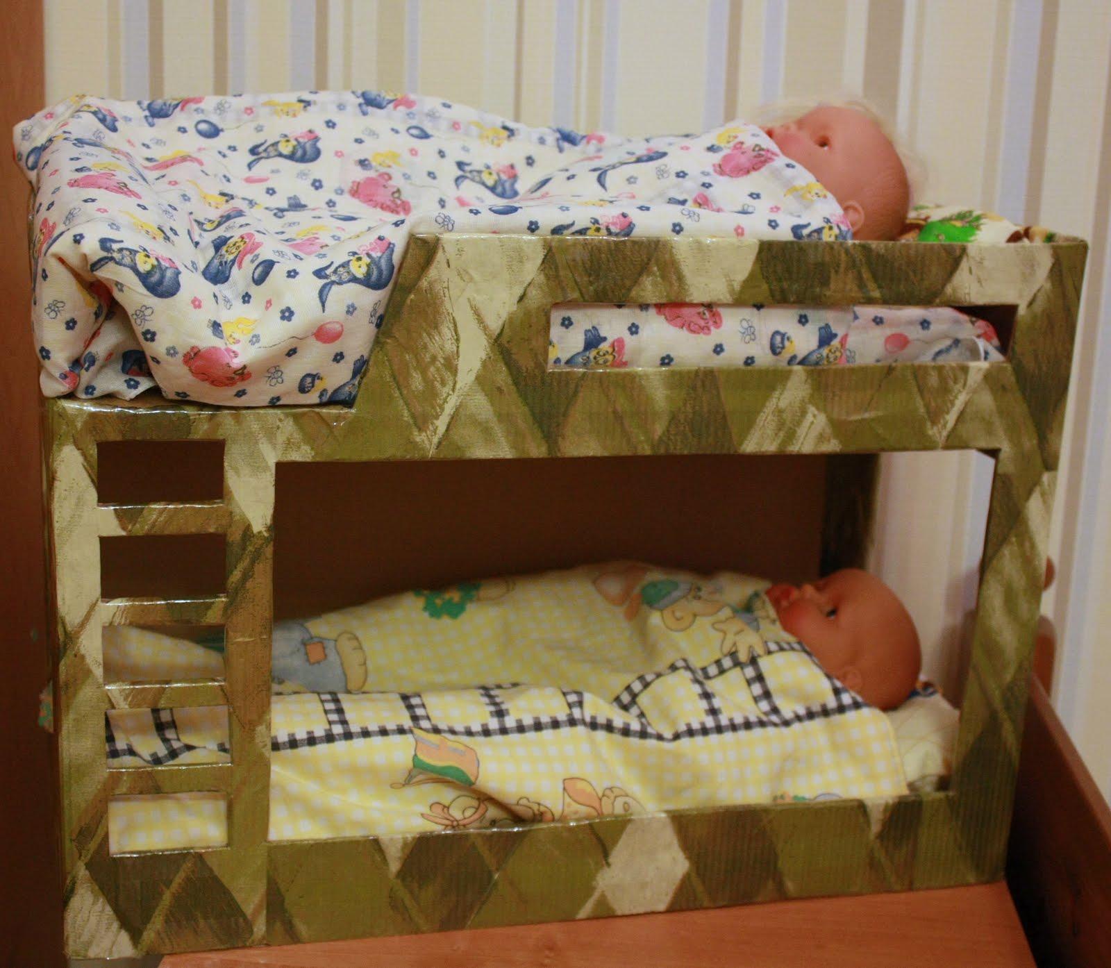 Предметы мебели для кукольного домика