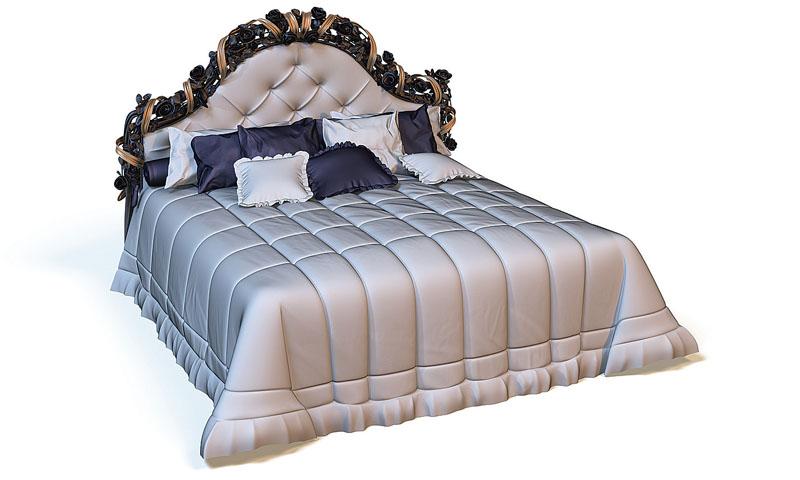 Приятный оттенок покрывала для кровати