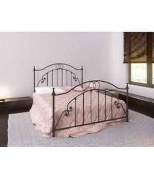 Решетчатый дизайн современной кровати