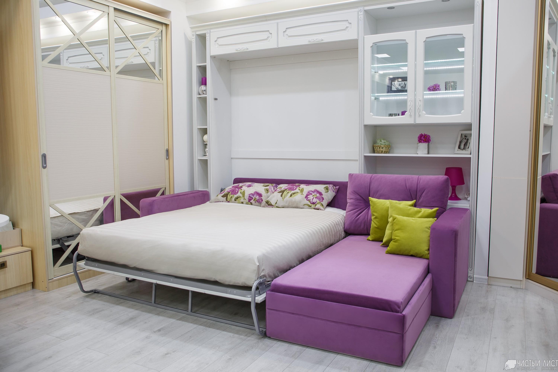 Шкаф кровать диван угловой
