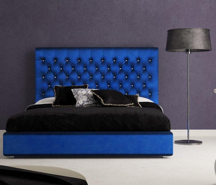 Синий цвет мягкой мебели