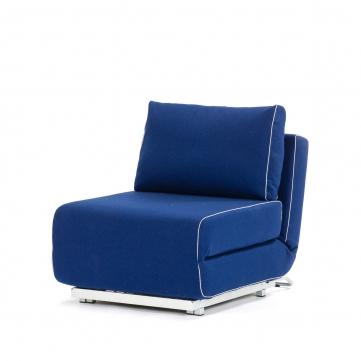 Синий цвет современной мебели для сна