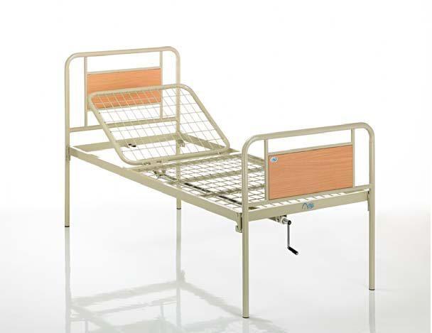 Современная двухсекционная кровать для больных и инвалидов