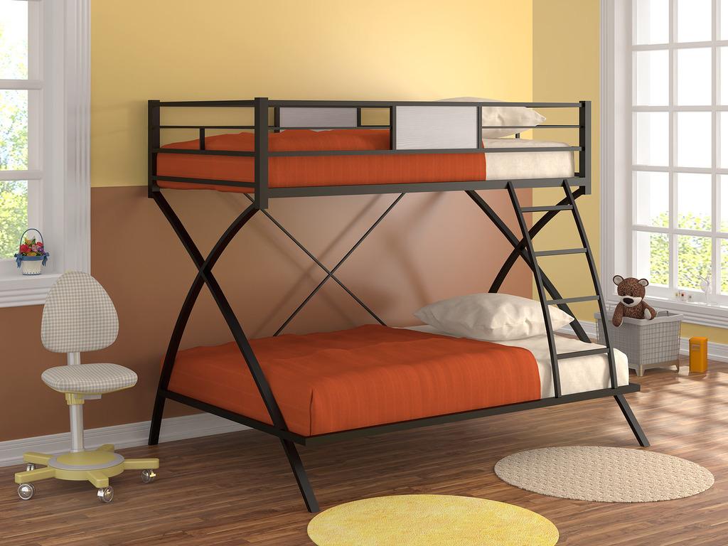 Современные, удобные и стильные металлические кровати