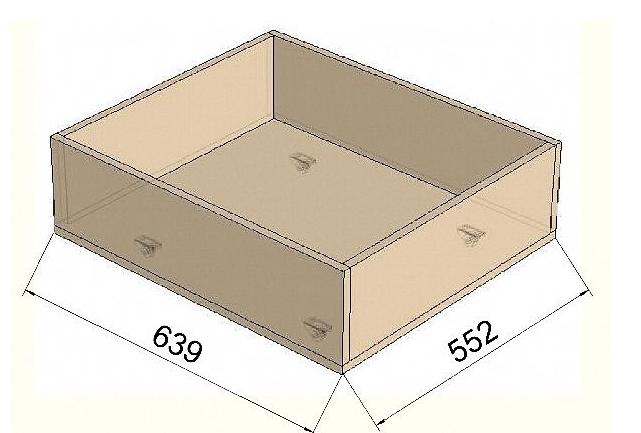 Создаем ящики для мебели